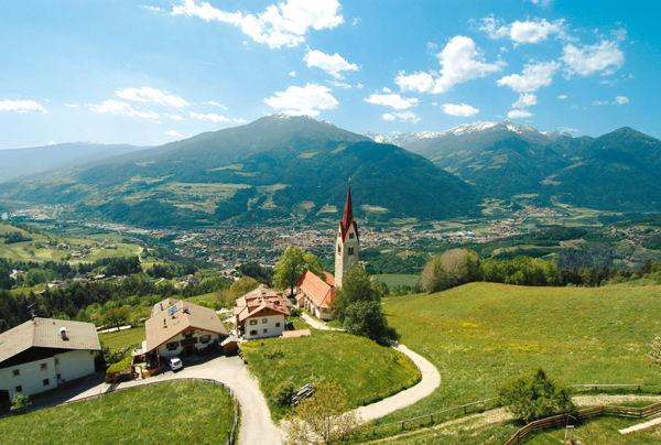 Panorama S. Andrea (Zona di Bressanone)