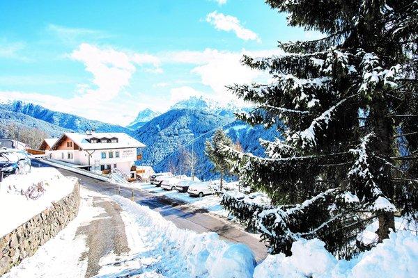 Foto esterno in inverno Alpenhof