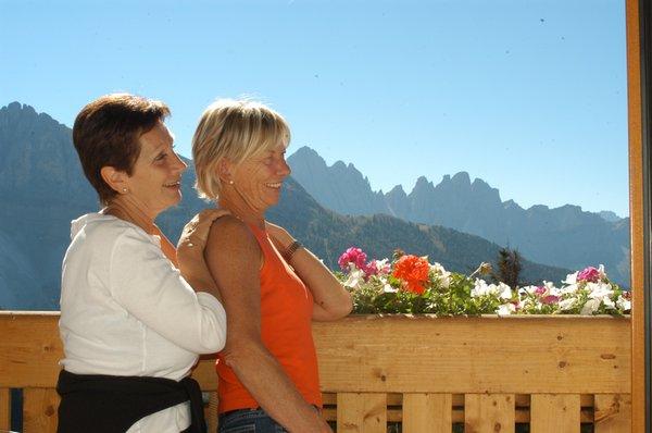 Foto del balcone Berghotel Schlemmer