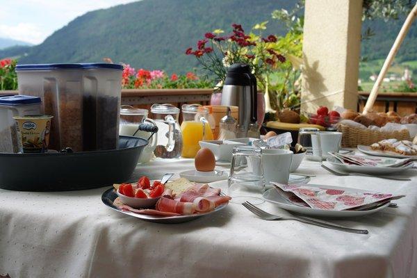La colazione Haus Karin - B&B + Appartamenti 3 soli