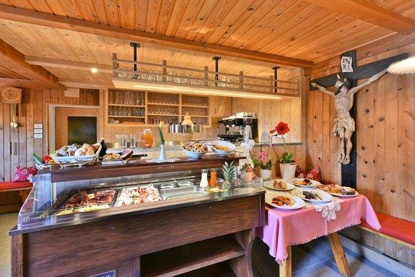 The restaurant Bressanone / Brixen Saderhof