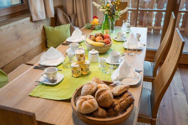 Das Frühstück Ferienwohnungen auf dem Bauernhof Hofer Hof