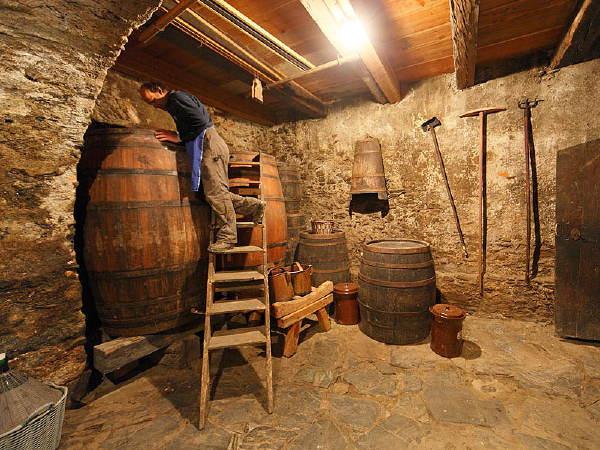 La cantina dei vini Velturno Hofer Hof
