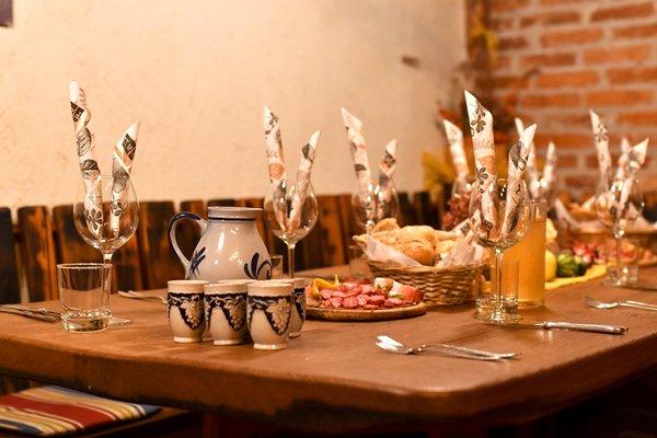 Il ristorante Bressanone Obermoarhof