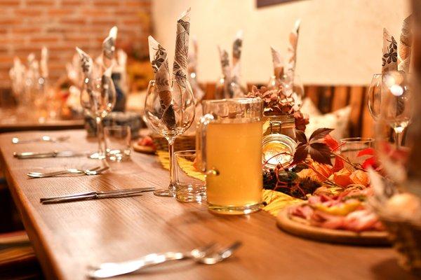 Das Restaurant Brixen Obermoarhof