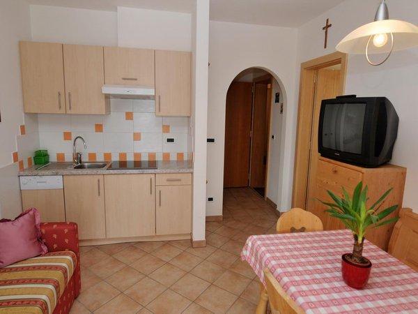 La zona giorno Appartamenti in agriturismo Furggerhof