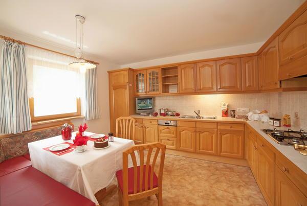 Photo of the kitchen Ciasa Alfred