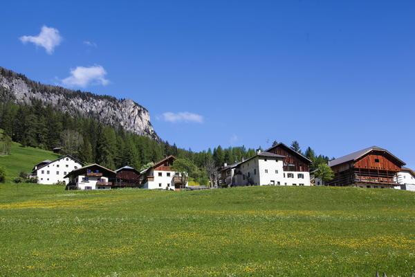 Position Farmhouse apartments Ciasa Alfred La Villa