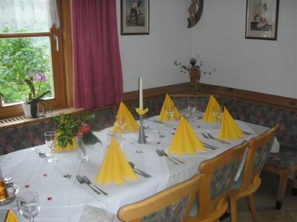 Il ristorante Chiusa St. Valentin