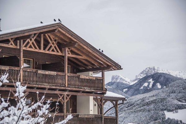 Foto esterno in inverno Taubers Unterwirt