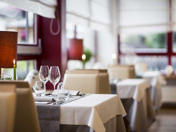 Il ristorante Velturno Taubers Unterwirt