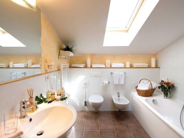 Foto del bagno Hotel Taubers Unterwirt