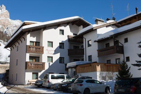 Foto invernale di presentazione Appartamenti Frara
