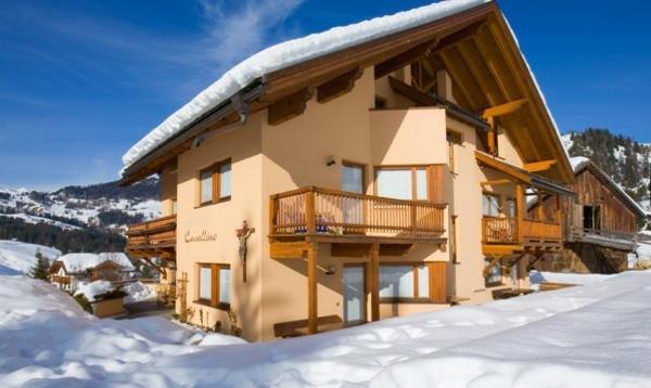 Winter Präsentationsbild Residence Cavallino