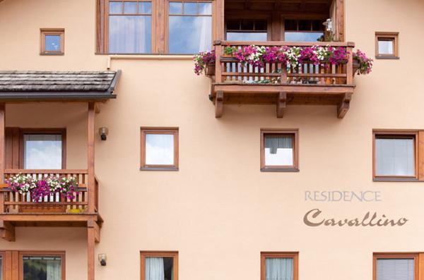 Foto Außenansicht im Sommer Cavallino