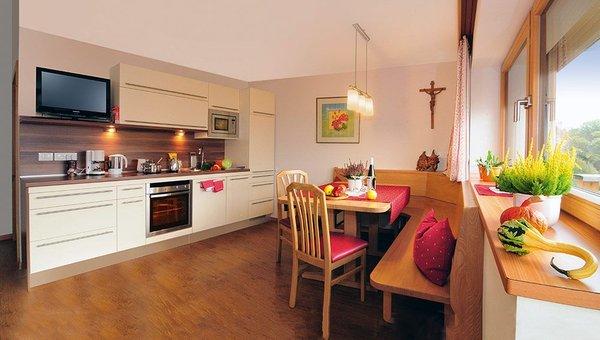 La zona giorno Huberhof - Pensione + Appartamenti 2 stelle