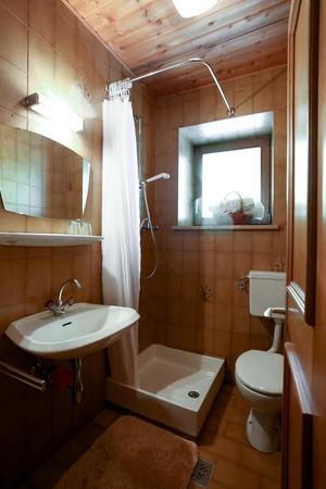 Foto del bagno Appartamenti in agriturismo Mittermüllerhof