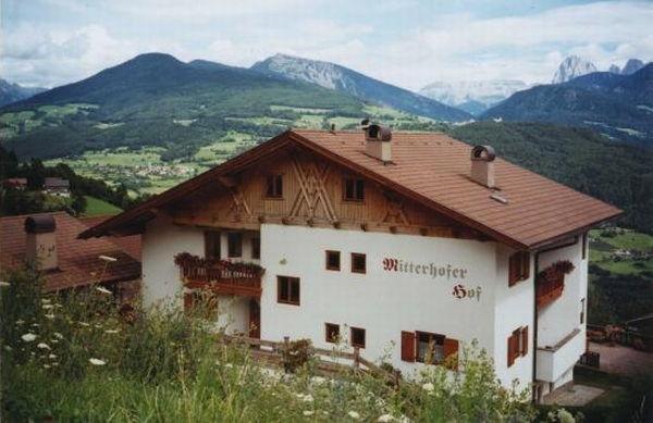 Foto estiva di presentazione B&B in agriturismo Mitterhofer-Hof