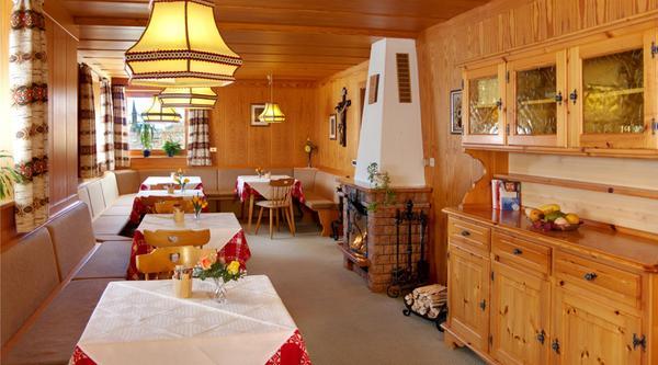 Il ristorante Val di Funes Residence Töglhof