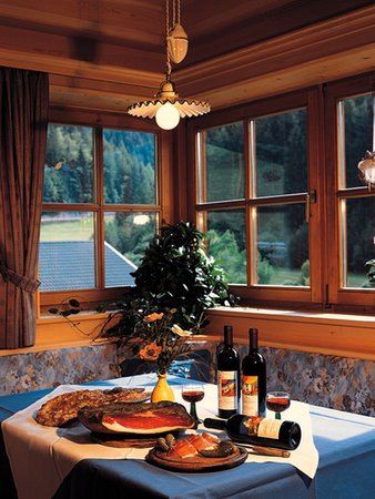 Il ristorante Val di Funes Mittermühl