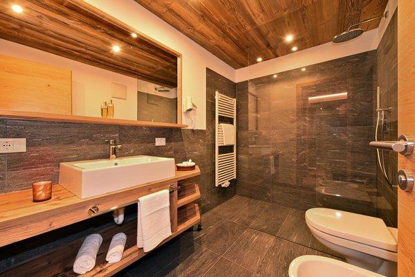 Foto del bagno Garni + Appartamenti Proihof