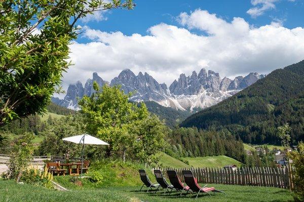 Foto del giardino Val di Funes