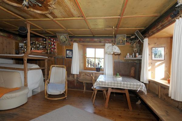 La zona giorno Appartamenti in agriturismo Oberpiskoihof