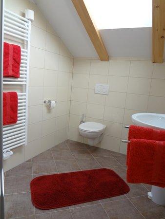 Foto del bagno Appartamenti in agriturismo Ritzhof