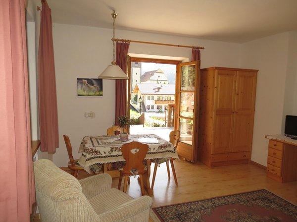La zona giorno Kabishof - Appartamenti in agriturismo 3 fiori