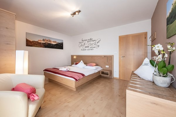 Foto della camera living Puez apartments in the dolomites