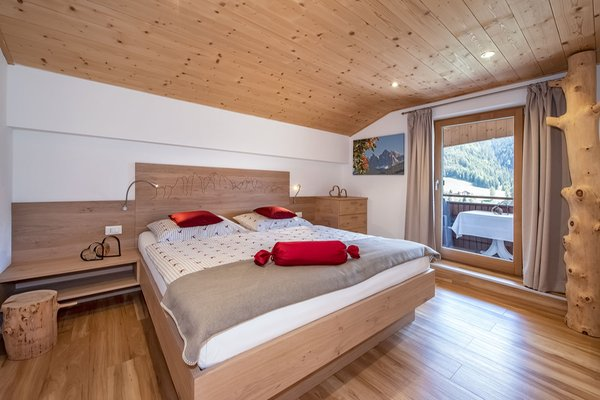Foto della camera living Puez apartments in the dolomites