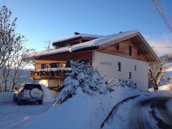 Foto invernale di presentazione Appartamenti in agriturismo Gasleidhof