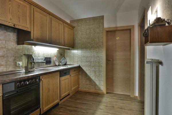 Foto der Küche Ciasa Vedla