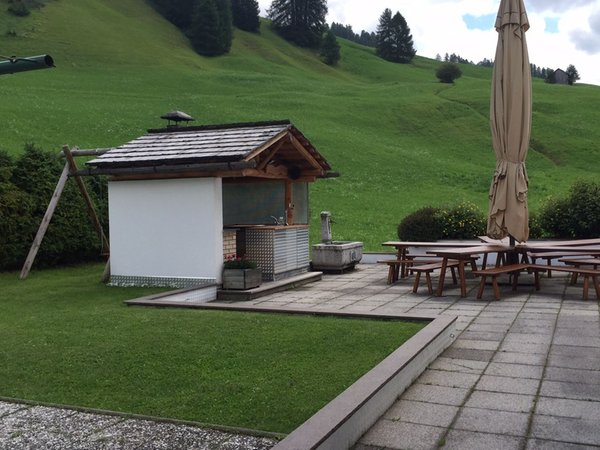 Foto del giardino Badia - San Leonardo