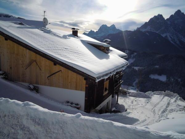 Winter Präsentationsbild Kerschbaumhof - Ferienwohnungen auf dem Bauernhof 3 Blumen