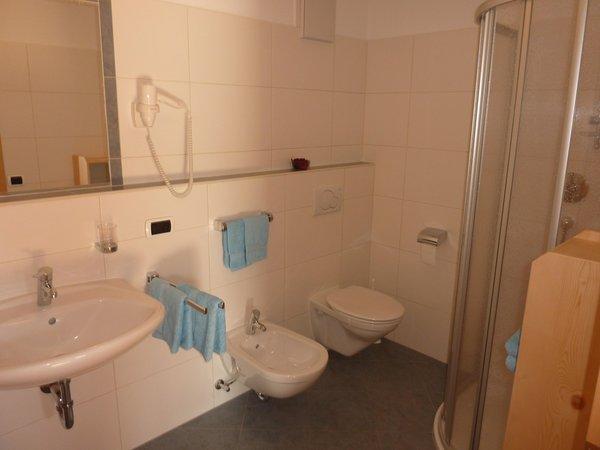 Foto del bagno Appartamenti in agriturismo Kerschbaumhof