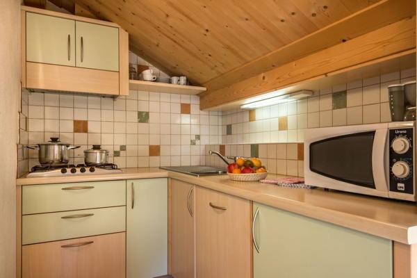Foto der Küche Ciasa Altonn