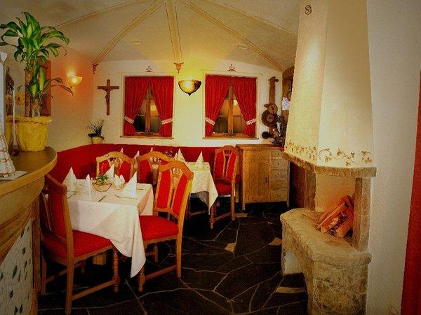 Il ristorante Villandro Rustika