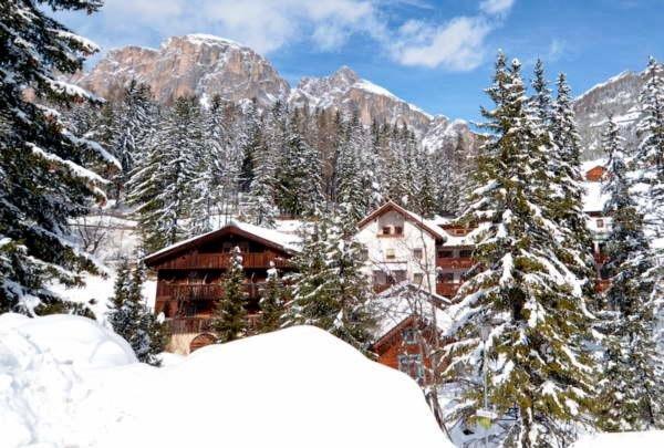 Foto invernale di presentazione Residence Elisa