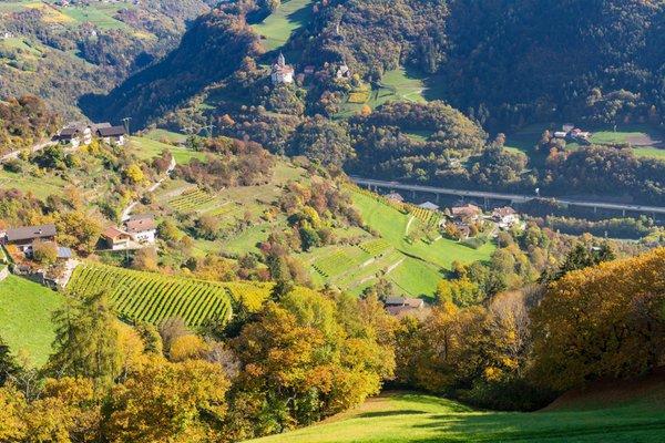 Panoramic view Chiusa / Klausen