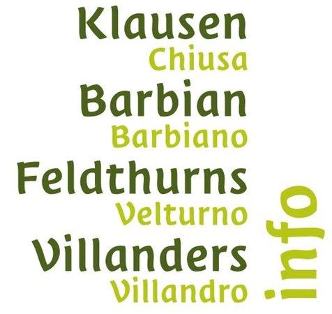 Logo Chiusa - Barbiano - Velturno - Villandro