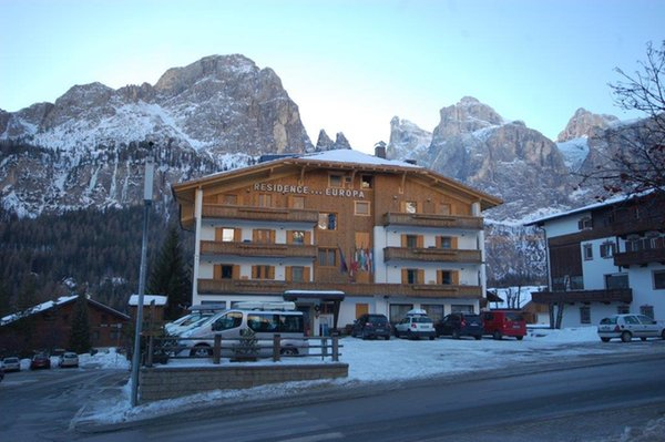 Photo exteriors in winter Europa