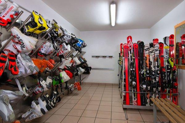 La skiroom Residence Haus Barbara