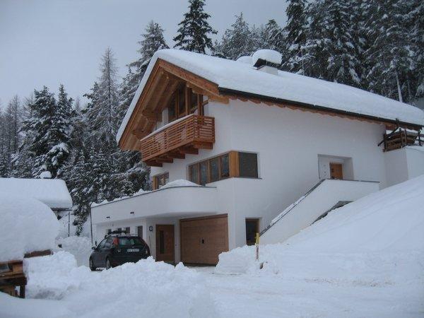 Foto invernale di presentazione Ciasa Arthur - Appartamento 2 soli