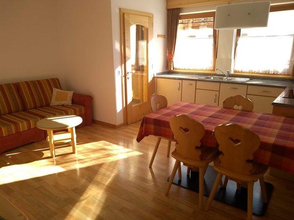 The living area Apartment Ciasa Arthur