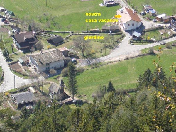 La posizione Appartamenti Dossi Laura Carano (Val di Fiemme)