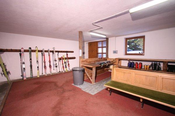 Der Skiraum Residence Sidonia