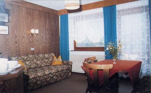 La zona giorno Villa Pinter - Residence 2 stelle