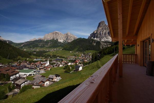 Foto vom Balkon Chalet La Flu