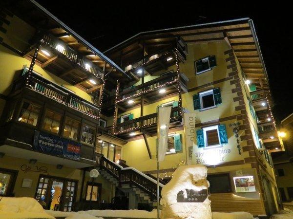 Foto invernale di presentazione Hotel Alpino